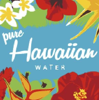 ハワイアンウォーターのロゴ